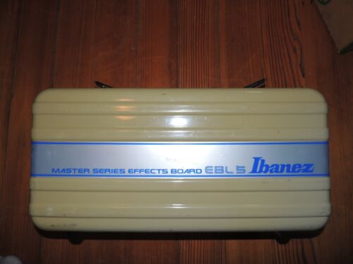 Vintage Ibanez EBL-5 Master Series Pedalboard Effects Pedal Carrying Case RARE