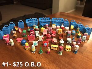 Assorted Shopkins For Sale or Trade!