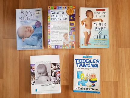 Baby Books x5
