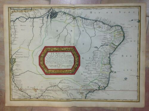 BRAZIL 1656 NICOLAS SANSON UNUSUAL D