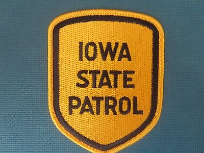 Collectible Iowa state Patrol Patch