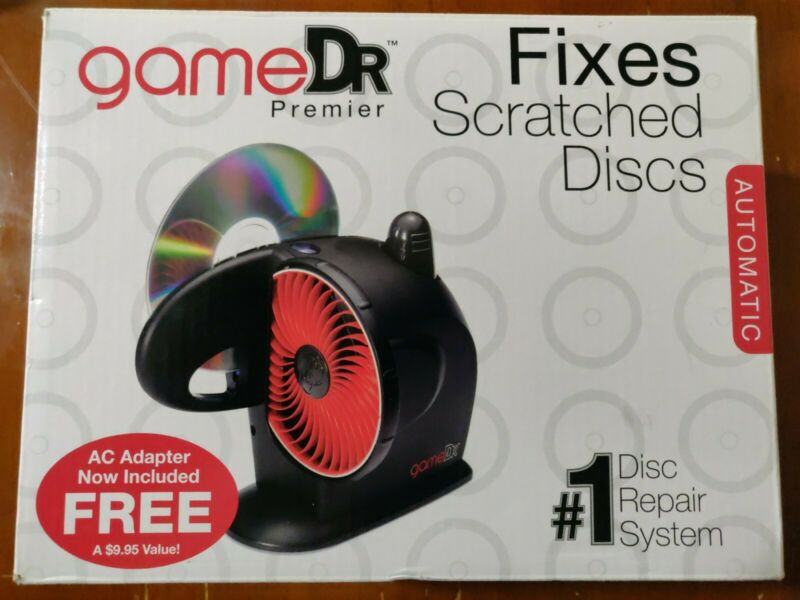 Digital Innovations Game Dr Premier Scratched Game, CD, DVD  Disc Repair System