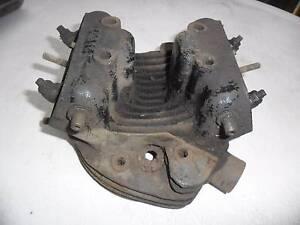 Triumph 3T Cast Iron Head,350 with valves and rocker caps Shailer Park Logan Area Preview