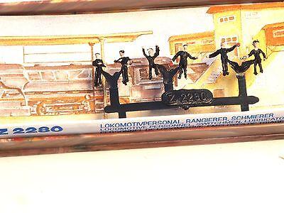 Z-scale MERTEN 2280 Railway Personnel six Figures