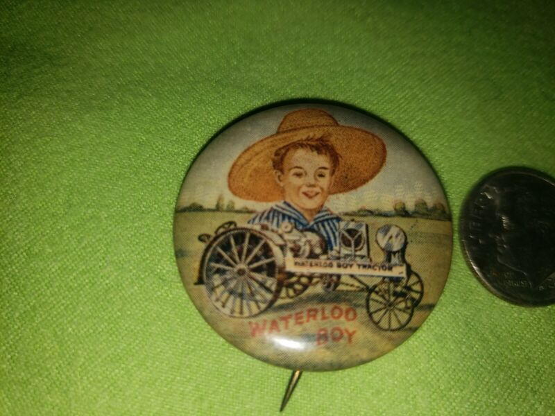 Vintage John Deere Waterloo Boy Pin, Great Collectible NEAR MINT CONDITION, RARE