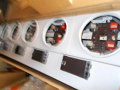Ge Tmp8612r 3 Ph 6 Ring Socket Modular Electric Meter Stack