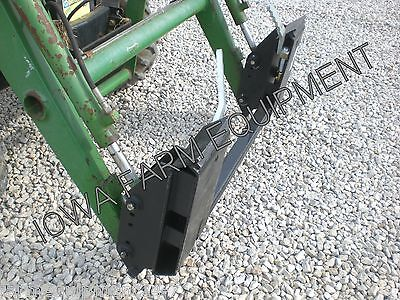 John Deere Pin-on Loader To Skid Steer Quick Attach Adaptercompactutilityfels