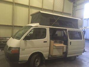 2004 Toyota Hiace Poptop Campervan low km Albany Creek Brisbane North East Preview