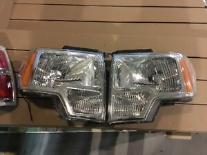 Ford F-150 headlight and taillights