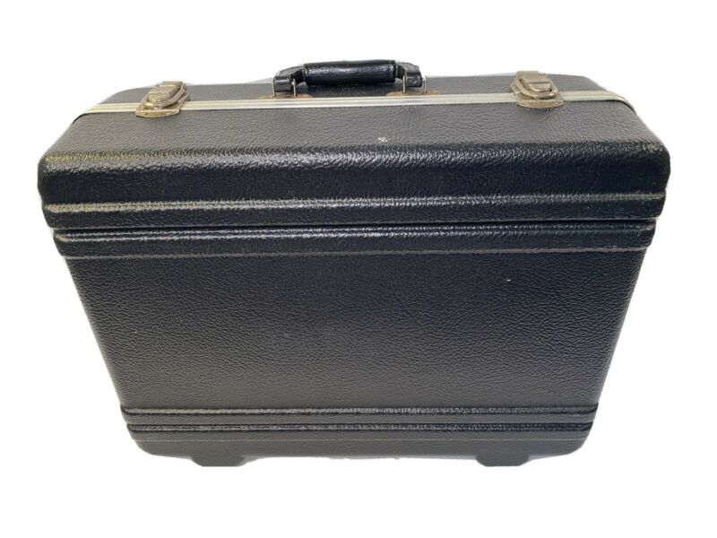 Vintage Platt Hard Shell Camera Electronics Carrying Travel Case
