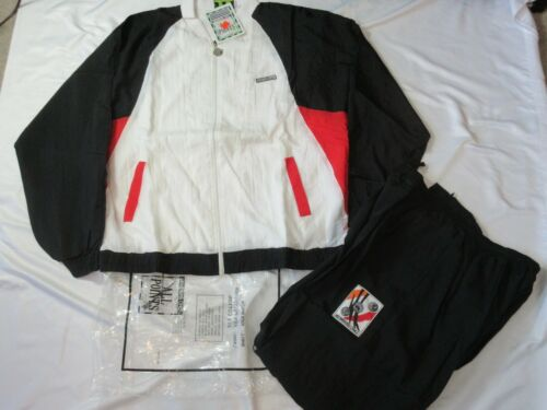 90s NOS VTG MEMBERS ONLY All Points Men XL TRACK SUIT Jacket Pant COLOR BLOCK
