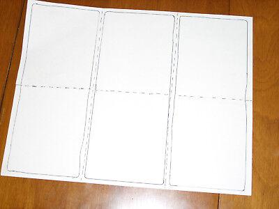 600 Laser Labels Blank Printer Stickers Matte White Warehouse Self Adhesive Shop