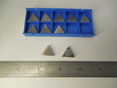 10 Pcs New Valenite Tpe 321 Vc2 Carbide Milling Turning Inserts Toolmaker Tools