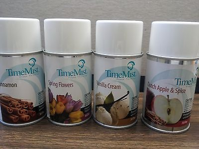 TIME MIST 5.3 oz RELEASE FRAGRANCE SCENT REFILL CAN (CHOOSE 1, 3, 6, or 12 CANS)