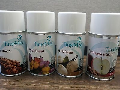 Scent Refill - TIME MIST 5.3 oz RELEASE FRAGRANCE SCENT REFILL CAN CHOOSE 1, 3, 6, or 12 CANS