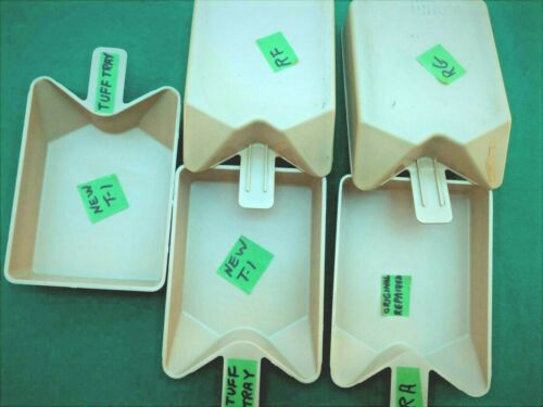 KIRBY CATCH TRAYS- FITS KL-8, KL-X > OLD ORIGINAL > REPAIRED > NEW > YOU  CHOOSE