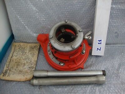 Rigid N.65r -c 1 To 225-50 Mm Pipe Threader With Handles