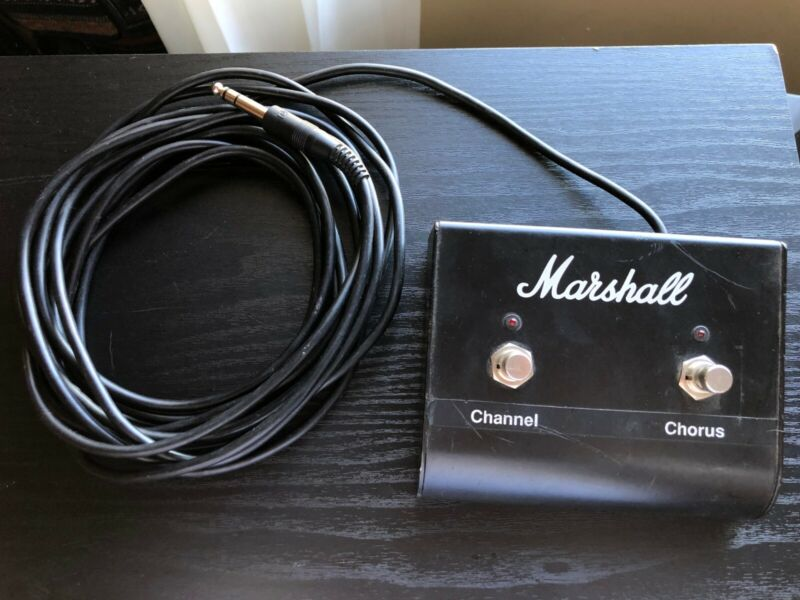 Marshall 2 Button Channel/Chorus Foot Switch