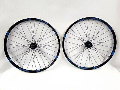 "Sun Ringle Black Flag Bicycle Tubeless Ready Wheelset 27.5/"" 15x100//12x142mm"
