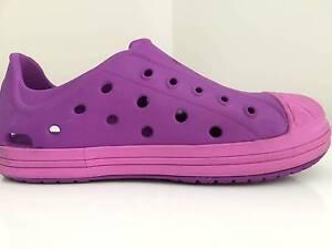 Crocs Kids' Bump It Shoe (Amethyst/Wild Orchid) Size C12 Pakenham Cardinia Area Preview