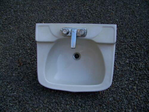 Vintage Porcelain Bathroom Sink From The 1940