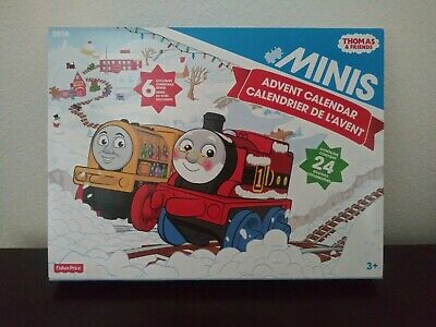NEW Thomas & Friends Minis Advent Calendar w Exclusive Minis Fisher Price 2016