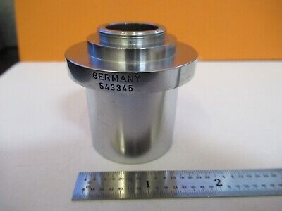 Leitz Germany Camera Adapter 543345 Microscope Part Optics As Pictured 85-b-37