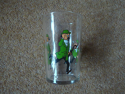 Lovely Tintin Glass - 1974 Lombard - series of 6 - buy individually - very rare.