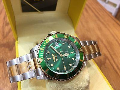 22831 Invicta Men 40mm Pro Diver Automatic Stainless Steel Case Bracelet Watch