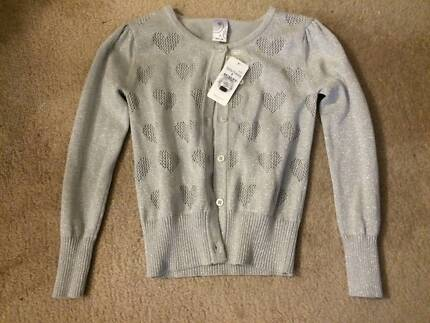 Target Girls Silver Cardigan - Brand New with Tags  Size 7 West Pennant Hills The Hills District Preview