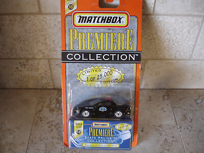 Matchbox Premiere State Police collection Kansas Hwy Patrol