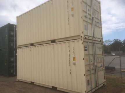 New build single use 20ft Shipping Container