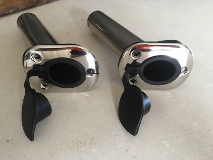 Brand new stainless steel rod holders