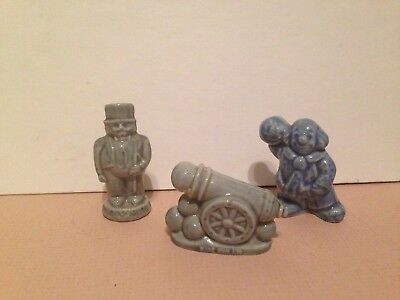 lot Wade Circus carnival Figurines blue Clown Cannon Ring Master red rose tea  for sale  New Paltz