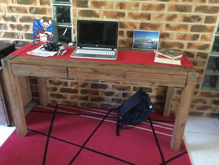 Desk Super Amart Silverwood With Matching Chair