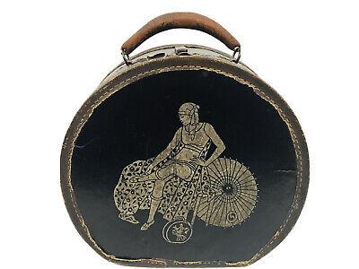 Vintage Land leather zip foldable garment bag luggage