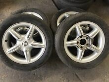 Holden rims 16inch with tyres West Footscray Maribyrnong Area Preview