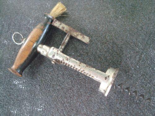 Antique Corkscrew, 1850s English Rack & Pinion design corkscrew, Vintage