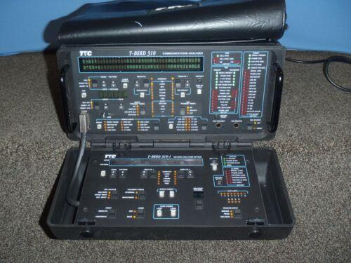 TTC T-berd 310-S Comms Analyzer with user manual