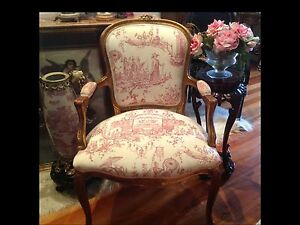 Antique Vintage French Chair Edithvale Kingston Area Preview
