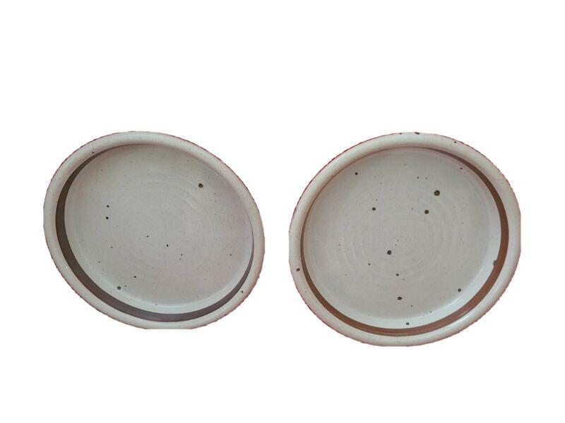 Dansk BLT Earthstone SET OF 2 dinner plates