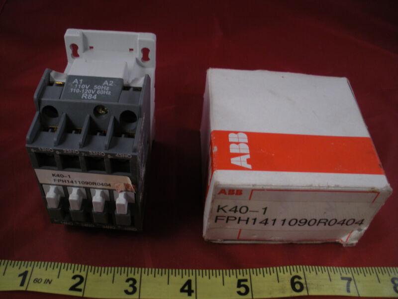 ABB N40E Contactor Relay FPH1411090R0404 K40-1 690v 16a Nib New