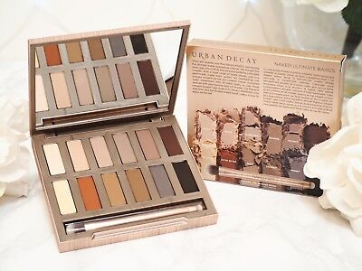 URBAN DECAY Naked ULTIMATE BASICS Eye Shadow Palette 12 shades Made in USA