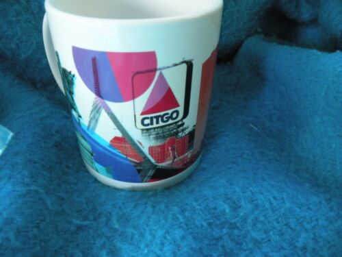 Citgo Gas & oil Company Collectible Advertising Mugs Six in lot