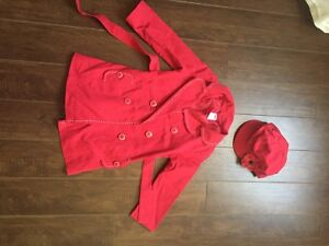 Gymboree Fall Coat and Hat