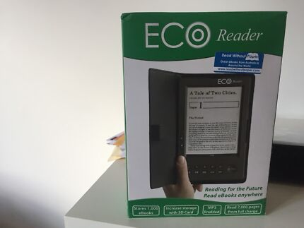 Eco book reader - never used