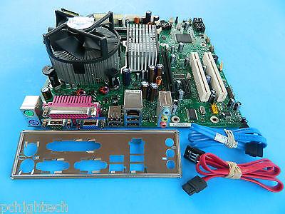 Dual Lga775 Motherboard (Intel D66165-502 LGA775 Dual Core 1.8GHZ  Motherboard w 1 SATA I/O Heat S/Fan )
