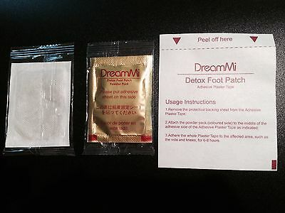 500/ Dreammi Gold Premium Detox Foot Patch Powder Pack + ...