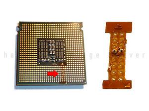 INTEL XEON LGA 771 TO 775 ADAPTER ★ PIN MOD STICKER CORE 2 QUAD Q9650 Q9550 TOP