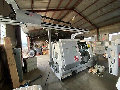 Haas Tl-25 Cnc Turn Mill Center Sub Spindle Live Tool Lathe Sl St